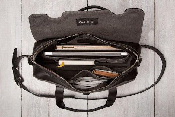 padandquill briefcase ipad