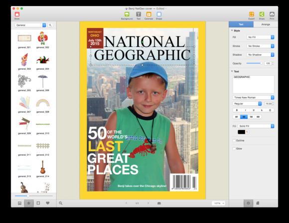 picture collage maker 3 magazine cover