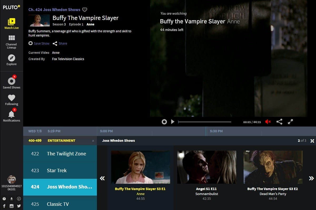 pluto tv for android box