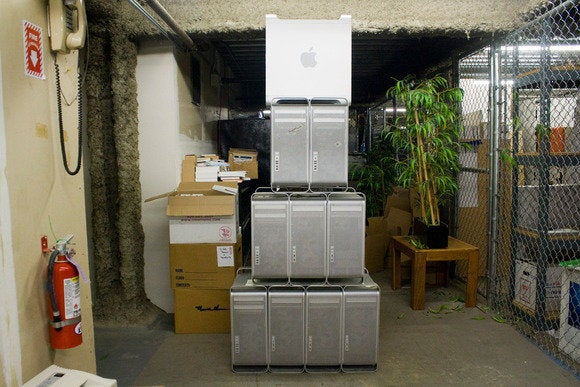 pyramid of mac towers