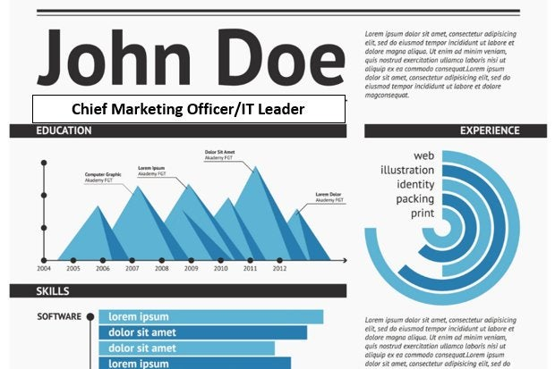 Tech Resume Makeover How to use charts and graphs CIO