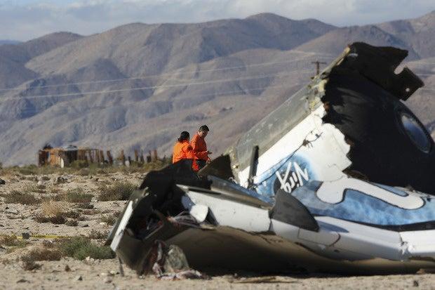 Human error to blame in fatal crash of Virgin Galactic's spacecraft