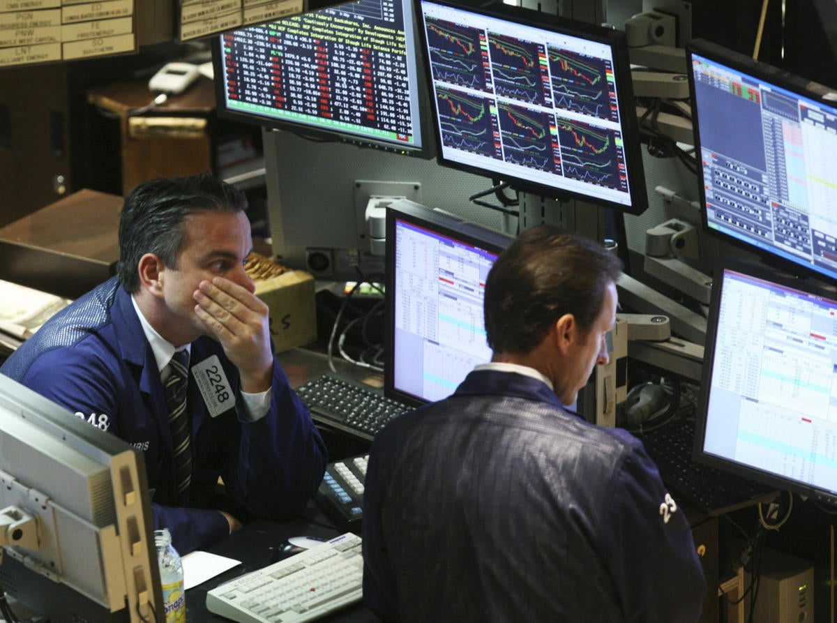 Stock crash 2008