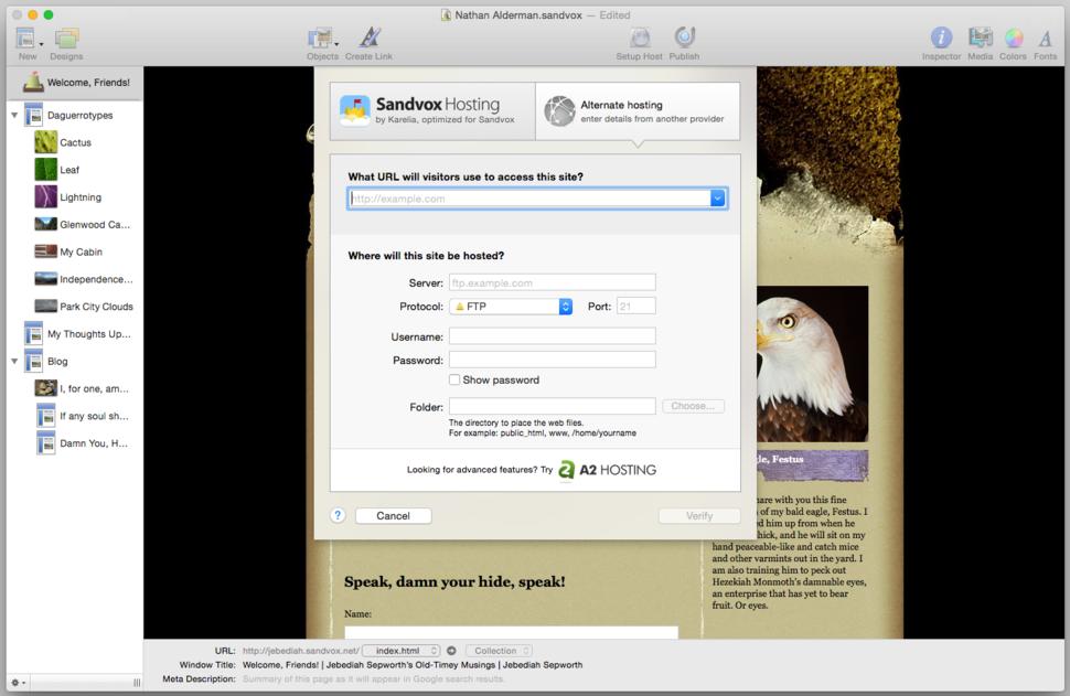 Karelia Software Sandvox 2 Purchase