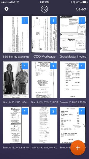scanner pro 6 documents