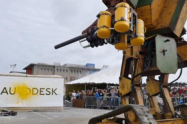 MegaBots Mark II combat robot