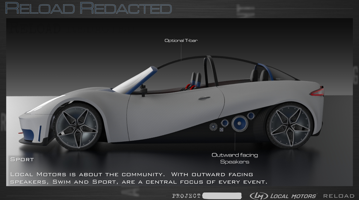 Start-up plans to release 3D-printed, street-ready cars next year