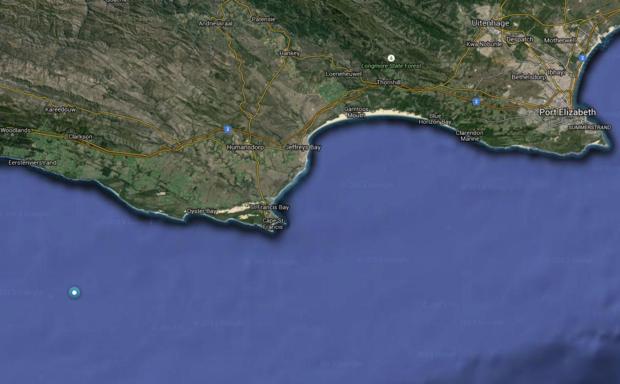 OCEARCH shark location