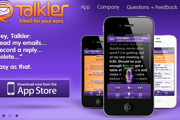 Talkler iOS app reads email aloud so you can be (nearly) hands-free