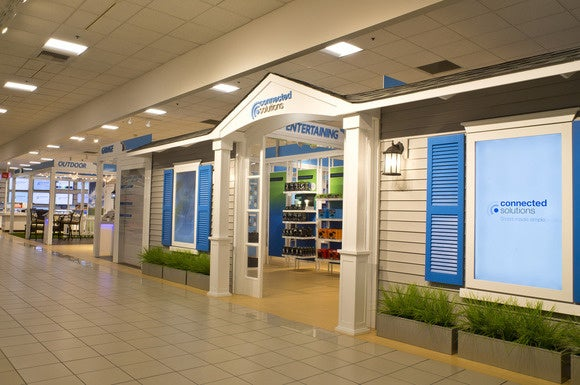 Sears Opens New Retail Showroom Laid Out Like A High Tech