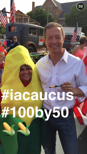 snapchat presidential election martin omalley2