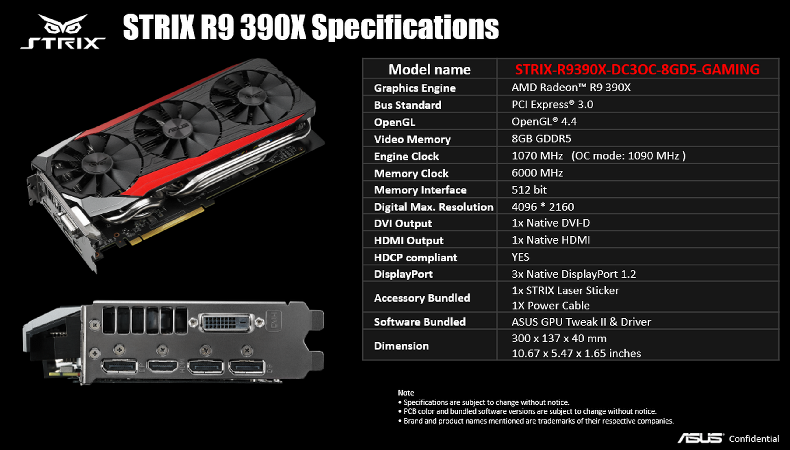 Asus Strix Radeon R9 390X review: Keeping up with the high