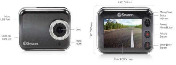 swann driveeye cam features