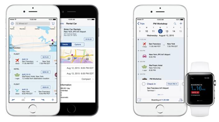 travel track apple ibm app