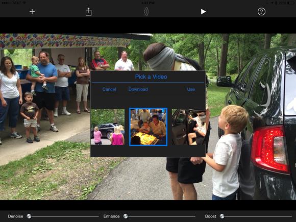 videosoap ipad pick a video