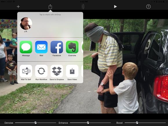 videosoap ipad sharing