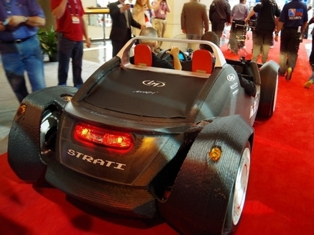 3D-printed car-maker targets mass distribution