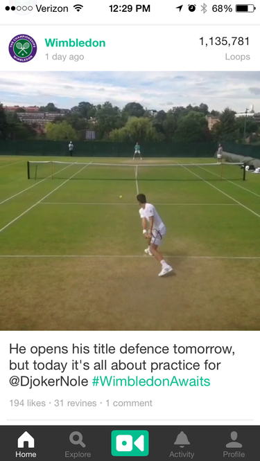 wimbledon vine video