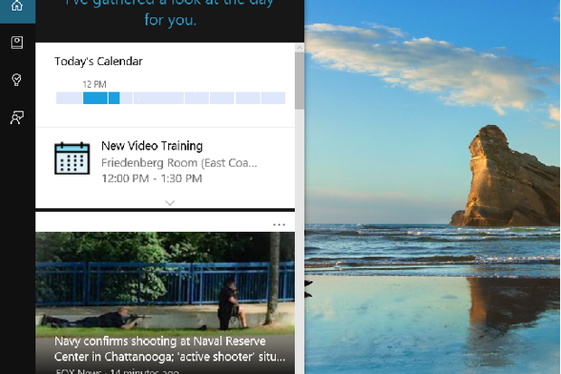 Cortana about yourself so she can search better for you teach hello