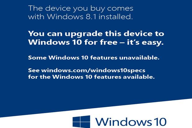 windows 10 sticker primary