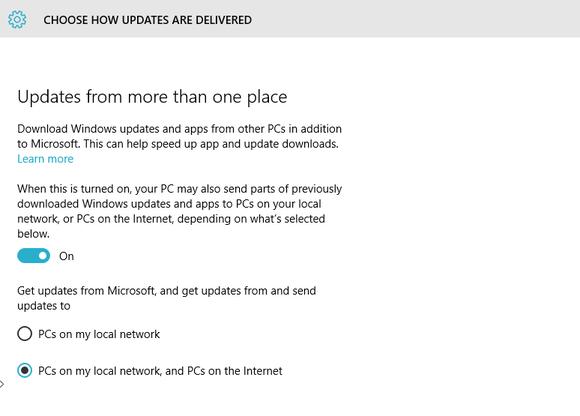 windows 10 updates delivery