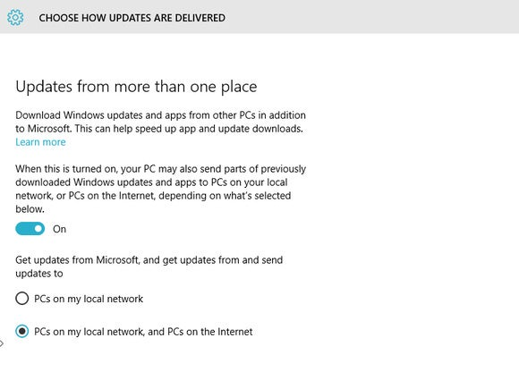 windows 10 updates delivery