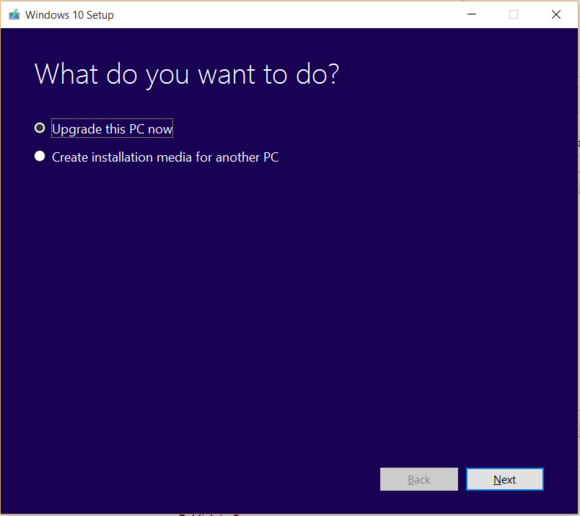 windows 10 upgrade tool