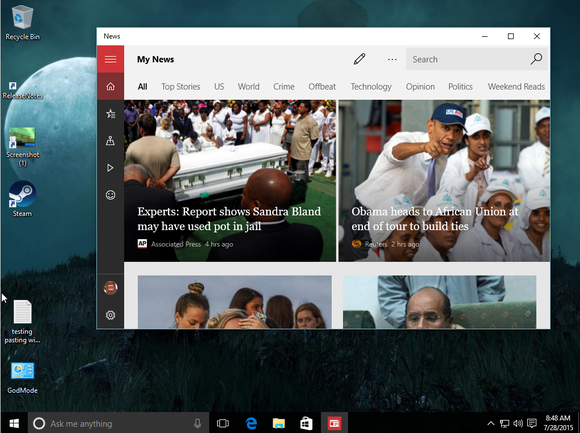 windows 10 windowed metro apps