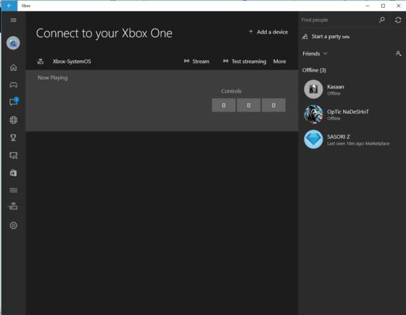 windows 10 xbox app connect to xbox one