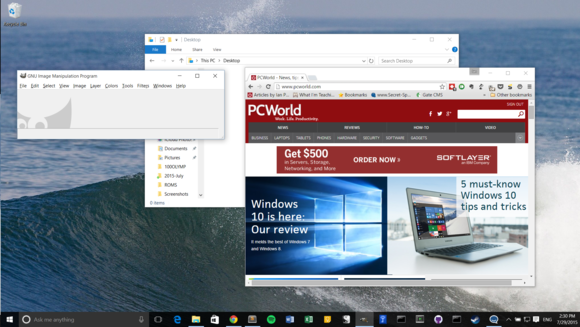 how to close laptop and use monitor windows 10