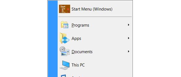 Windows 10 Classic Shell start menu-windows