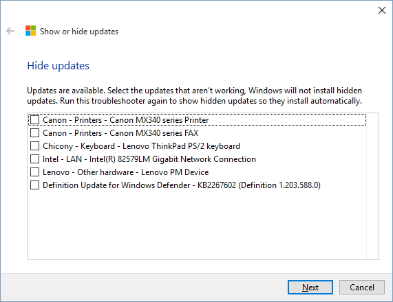 This should look familiar to anyone who's managed Windows Update.