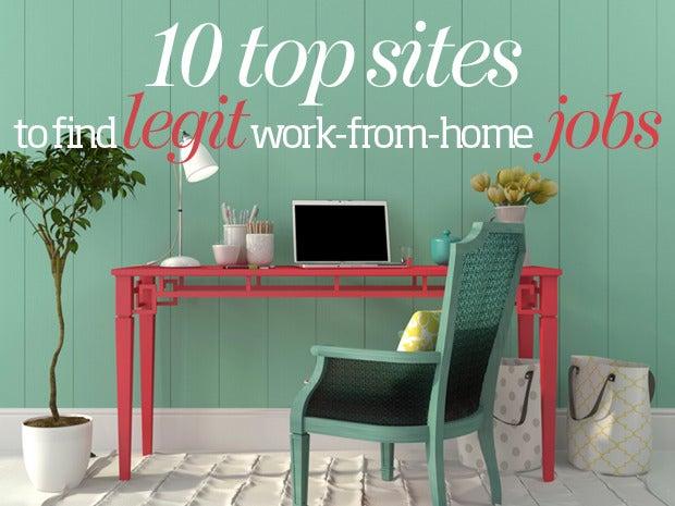 10 top sites to find legit work