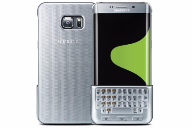 Samsung Blackberry keyboard Galaxy S6 Edge+ Note 5 review