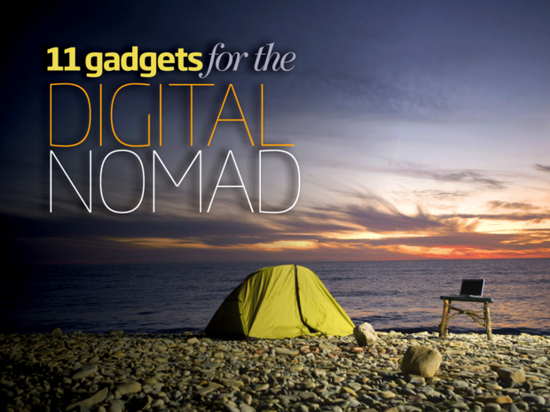 11 Gadgets for the Digital Nomad [slideshow cover]