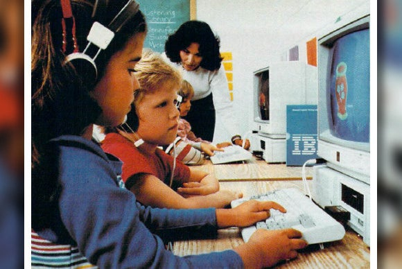 9 awesome photos of school computer labs from the 1980s