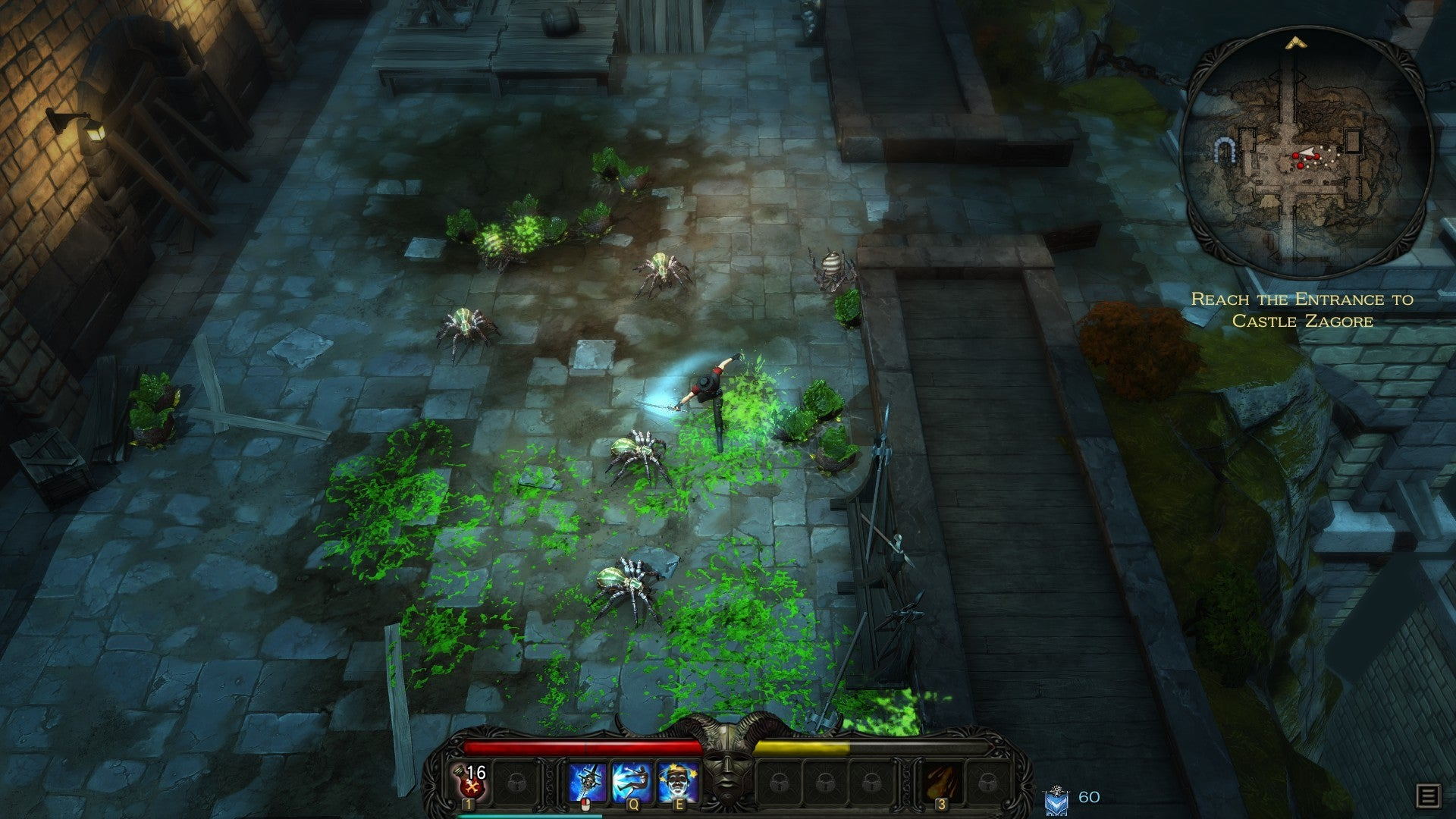 Victor Vran review: Your loot is your class in this
