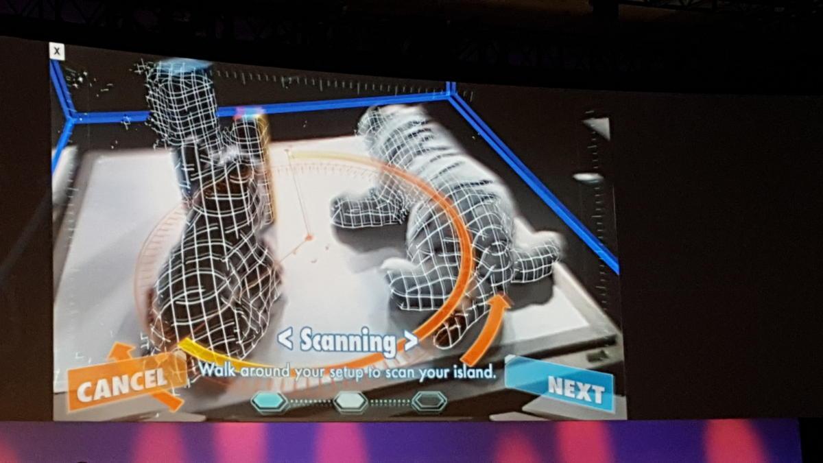 Lego RealSense camera game