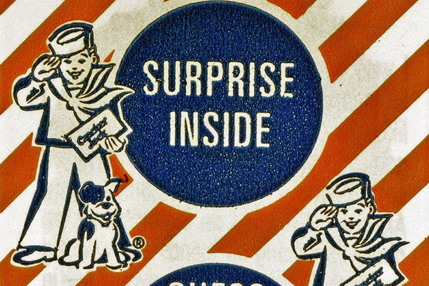 surprise inside cracker jack