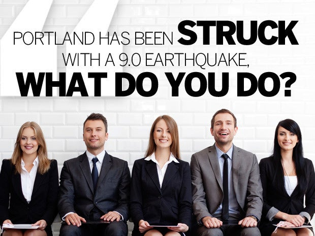 5 portland earthquake