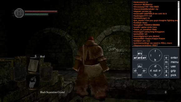 Twitch Plays Dark Souls