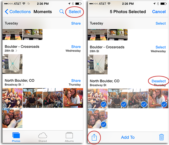 how can i transfer photos from iphone to mac with airdrop