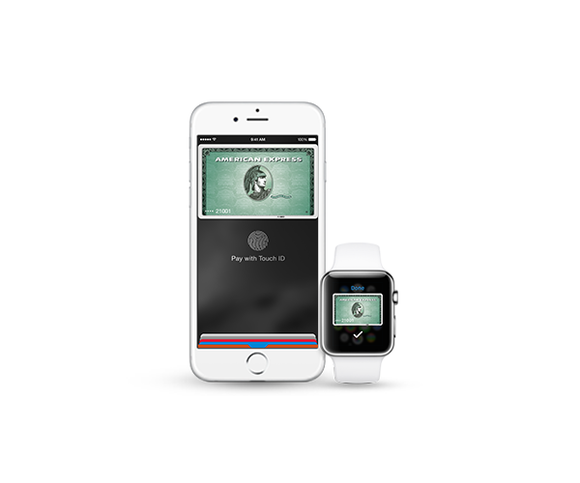 amex apple pay