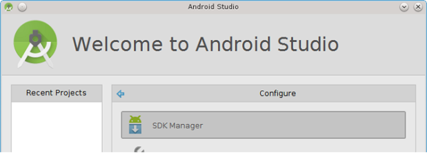 Android Studio, Configure, SDK Manager