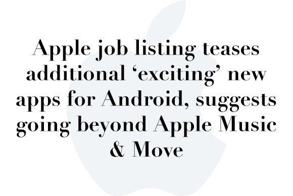 apple job