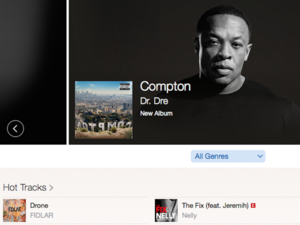 apple music dre