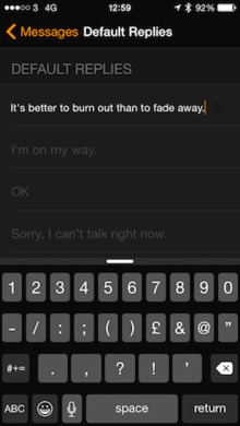 apple watch create your own default replies for messages1