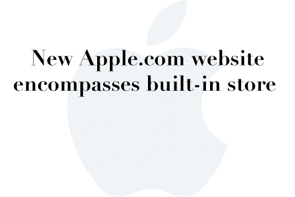 apple website