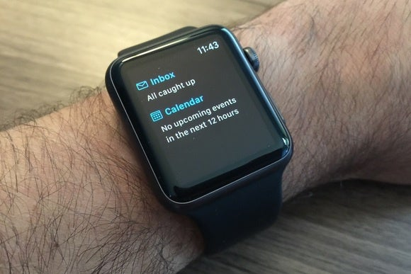 hands on with outlook for apple watch microsofts app does smartwatch email right macworld