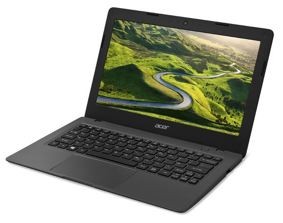 aspire one cloudbook ao1 131 left facing acer wp